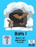Short A Word Sort {Bats}