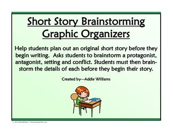Short Story Planner / Brainstorming Worksheet