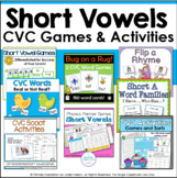 Short Vowel Games and Activities Bundle