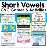 Short Vowel Games and Activities Bundle