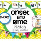 Short Vowel i: Onset and Rime Matching Activity