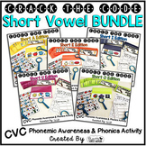 Short Vowels Phonemic Awareness & Phonics Activity BUNDLE
