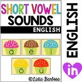 Short Vowels: center activities