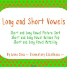 Short and Long Vowel INTERACTIVE Smartboard Practice Activities