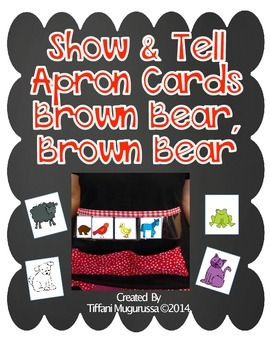 Show and Tell Apron Cards