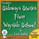 Sideways Stories from Wayside School Novel Unit CD Common Core