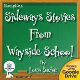 Sideways Stories from Wayside School Novel Study CD