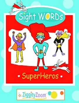 Sight WORDS SuperHeros: Activities, Printables & Word Work