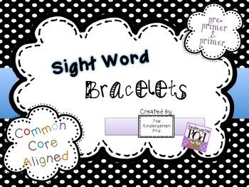 Sight Word Bracelets - Pre-Primer & Primer