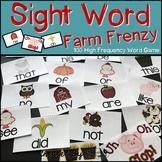 "Sight Word Activities ""Farm Frenzy!"" - 100 Sight Words Rea"