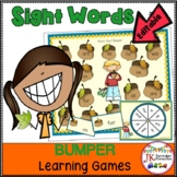 Sight Word Games: Fall Bumper {CCSS}