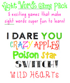 Sight Word Games Pack (5 Games)