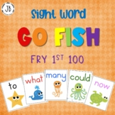 Sight Word Go Fish: Fry Words 1-100
