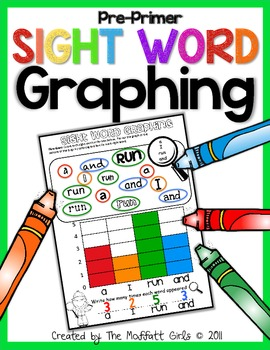 Sight Word Graphing Pre Primer