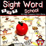 "Sight Word Activities ""Sight Word School"" - 100 Sight Word"