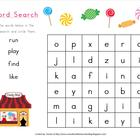 Sight Word Searches 1