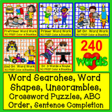 Sight Words BUNDLE VALUE 140 Activities - NO PREP! 5 Level