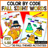 Color by Sight Word-Fall