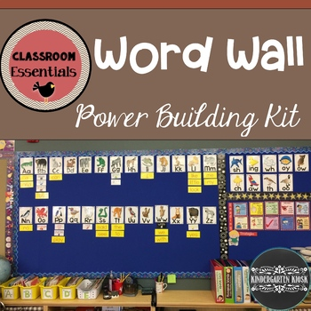 Sight Words: Power Word-Wall Kit