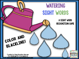 Sight Words!  Watering Sight Words!  A Sight Word Recognit