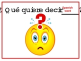 Signs in Spanish for your Classroom