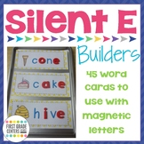 Silent E {VCE} Word Building Mats