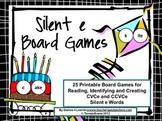 Silent e Board Games