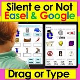 Silent e for Google Slides: Set One