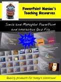 Simile and Metaphor PowerPoint lesson