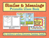 Similes & Meanings Printable Class Book
