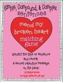 Simple, Compound, Complex Sentences! Valentine Hands-On Ma