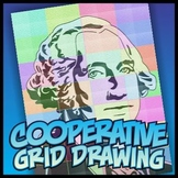 Simple Cooperative Drawing - George Washington
