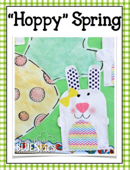 Simple Hoppy Easter Bunny Glyph, Writing, and More