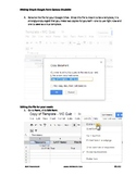 Simple gradable Google form multiple choice (MC) quiz