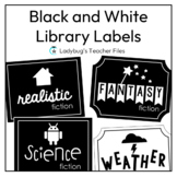 Editable Labels—Classroom Library (Simply Iconic)