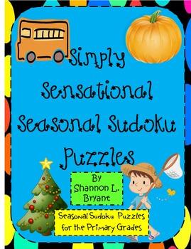 Simply Sensational Seasonal Sudoku (Problem Solving for Pr