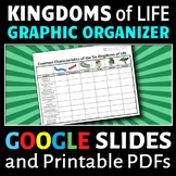 The Six Kingdoms of Life - Graphic Organizer {Editable}