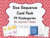 Size Sequence Card Activity Set