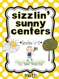 Sizzlin' Sunny Centers: Math