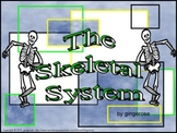 Skeletal System Unit PowerPoint Slideshow with Labs and Handouts