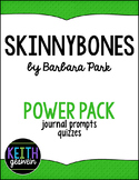 Skinnybones by Barbara Park Power Pack:  12 Quizzes and 12