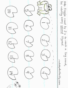 Skip Counting Hand-Drawn Printables!