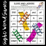 Slides and Ladders--Fry Words 1-100 Games