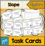 Slope Task Cards Common Core Aligned