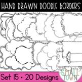 Small Doodle Frames Bundle [Set 1] - 76 Frames for Commercial Use