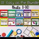 Small Group Math DI Easy as Pie, MEGABUNDLE  by K. Adsit &