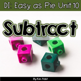 Small Group Math DI Easy as Pie, Unit 10 - Subtraction/Flu