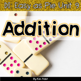 Small Group Math DI Easy as Pie, Unit 9 - Addition and Flu