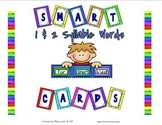 Smart Chute Cards - Identifying One and Two Syllable Words
