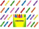 SmartBoard  Attendance- Crayon Box